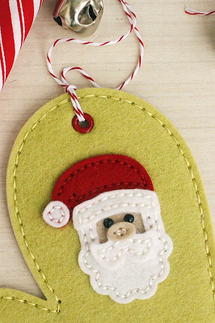 Seasonal Stitches Santa Stitching Die by Papertrey Ink
