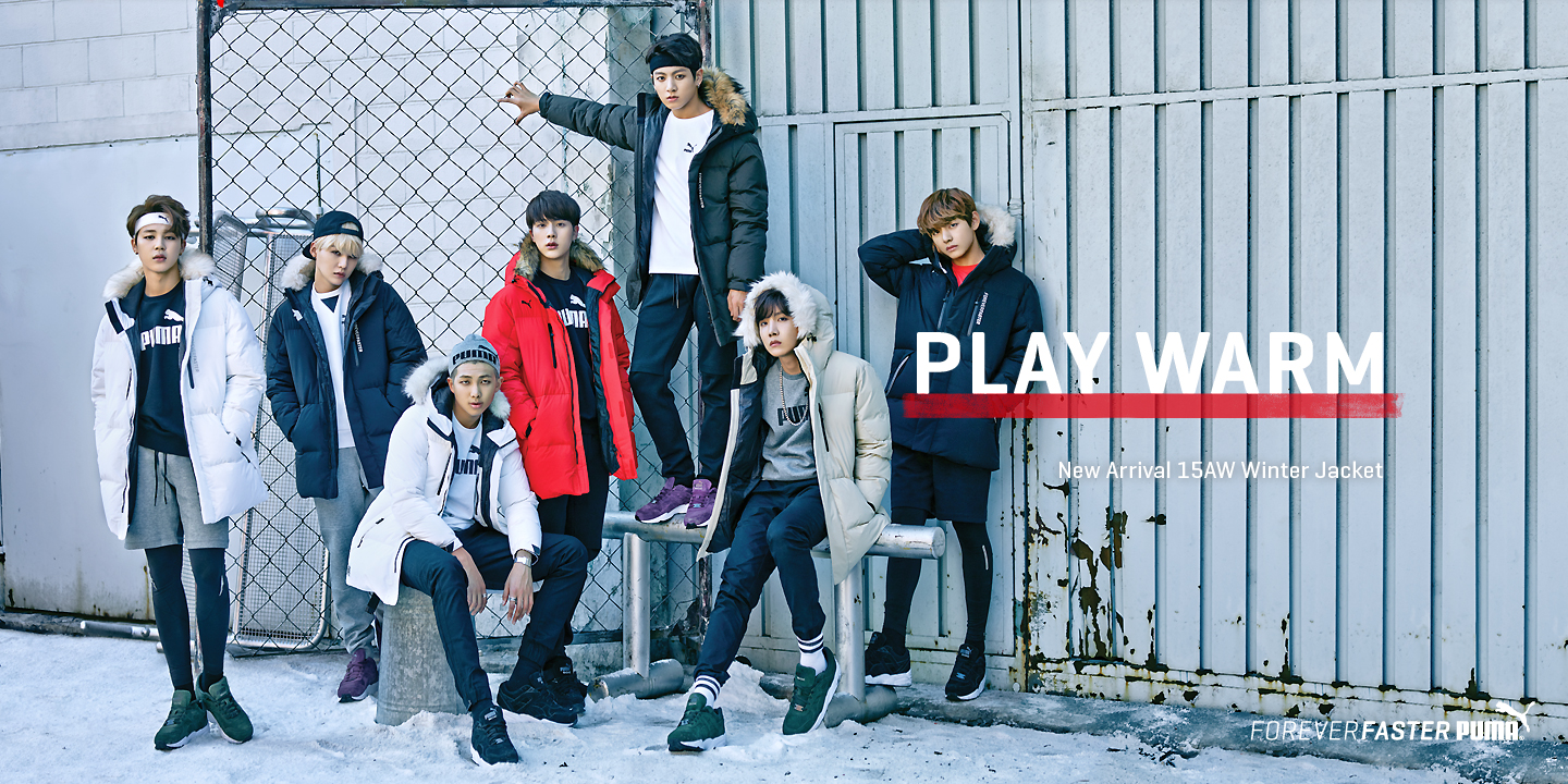 2ff46eb399be  Picture  BTS For Puma 15AW SPACE DOWN JACKET COLLECTION  151027