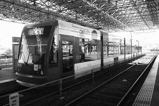 Tramcars at Hiroshima on OCT 28, 2015 (8)