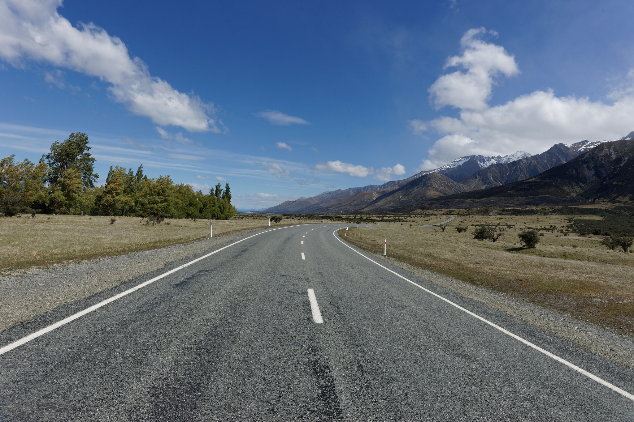 Road Near Lake Pukaki