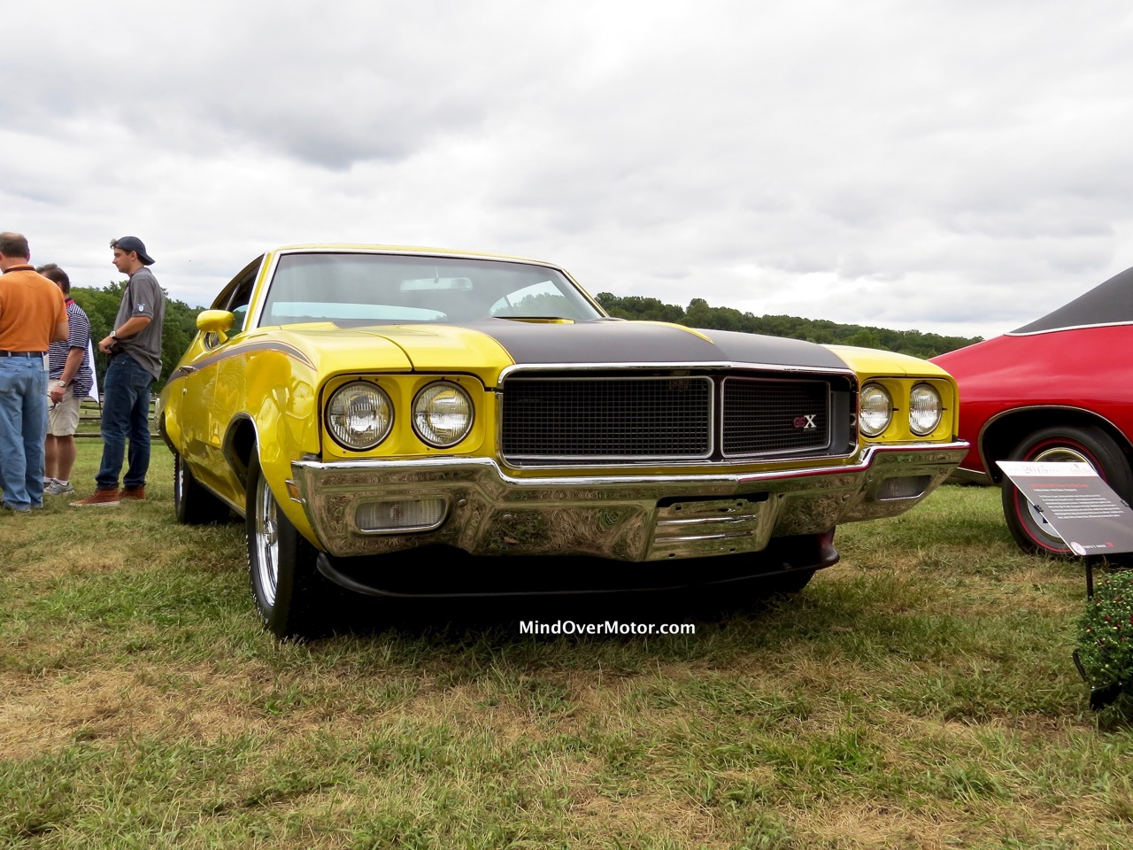 1970 Buick GSX Front