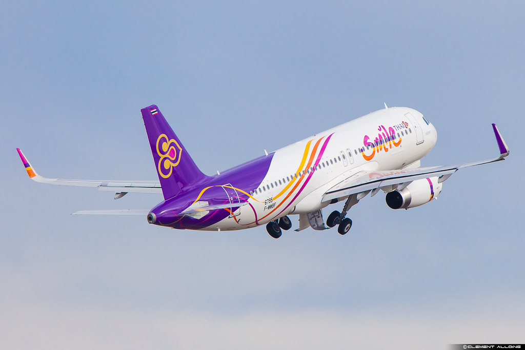 HS-TXU - A320 - Thai Smile