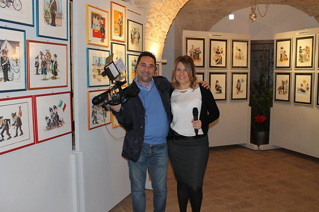 Casamassima-Il nuovo calendario satirico dedicato all'Arma presentato dal suo autore Antonio Mariella (15)