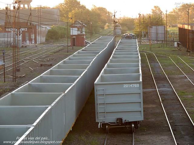 Formación de vagones carbonero 0km...