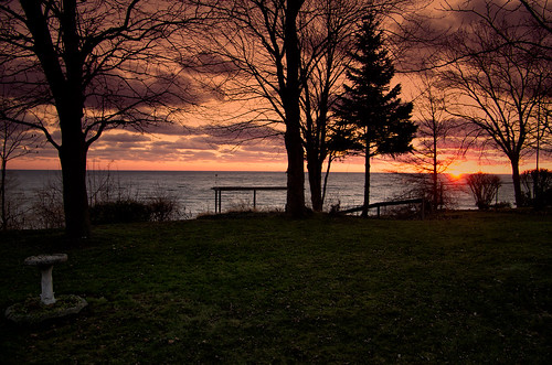 sunset lake ontario beach erie kingsville