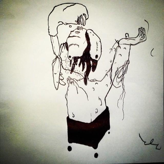 #ballpointdrawing #ballpointpen #drawing #drawnatwork #boredatwork #pencildrawing #pencil #paper #sketch #sketchbook #dailydoodle #dailysketch #doodle #linedrawing #linework #tattoo #graffiti #flare #cartoon #cartooning #comics #comicpanel #paper #art #ab