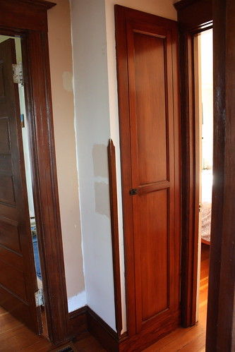 Linen Closet, Before Painting