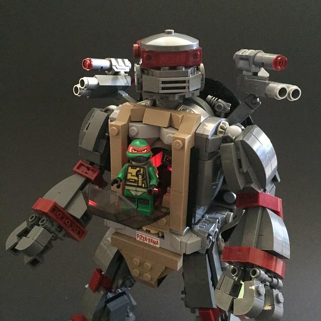 Raph's Mecha Turtle E-frame