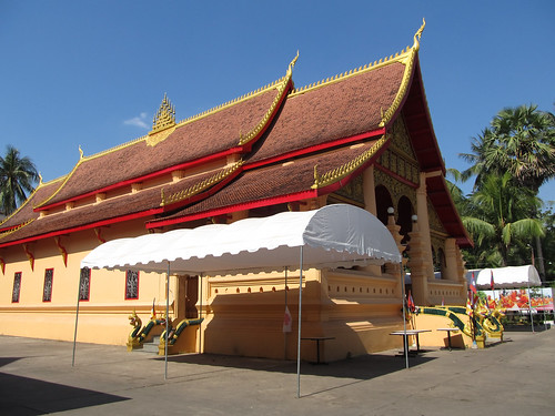 Vientiane: le temple Vat Ong Teu