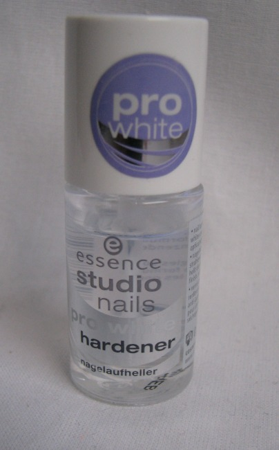 essence pro white hardener