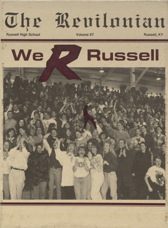 1993 Russell High School Yearbook
