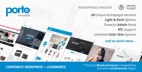 Porto v2.8.3 - Responsive WordPress + Woocommerce Theme