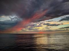 Sunset in Manhattan Beach California