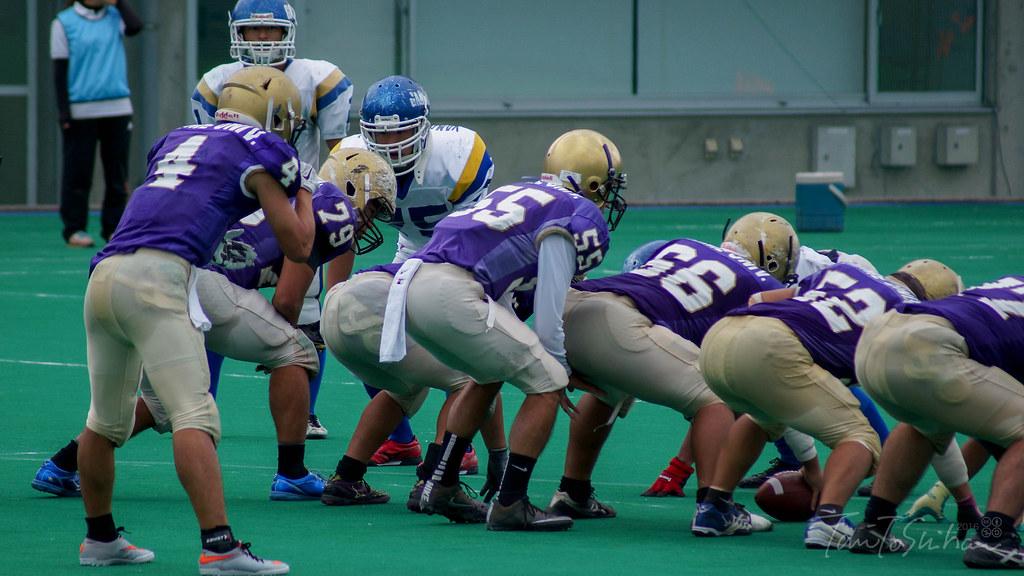 中四国学生アメリカンフットボールリーグ2016 順位決定戦 愛媛大ー山口大