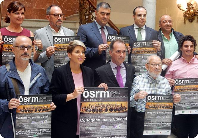 La Orquesta Sinfónica de la Región participará en la X gala 'Cartagena por la Caridad'