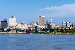 Memphis, Tennessee, Mississippi River, USA
