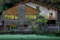 Living in old houses: Ordino, Vall nord, Andorra