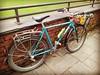 Vince's Mongoose mountain bike three speed conversion.#threespeedoct2016 #threespeedpubcrawl