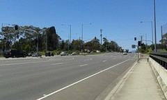 Canterbury Road and Eastlink intersection