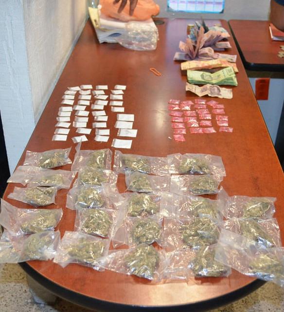 Mando Único del Altiplano sur detiene a vendedores de droga en Salinas de Hidalgo