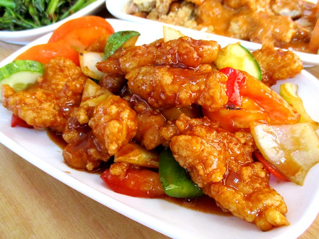 My Chef Restaurant sweet and sour fish fillet