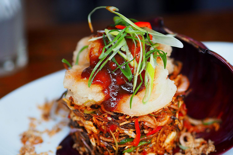Sydney Food Blog Review of Spice I Am, Surry Hills: Banana Flower Salad, $29