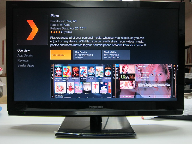 Amazon Fire TV Stick - Plex