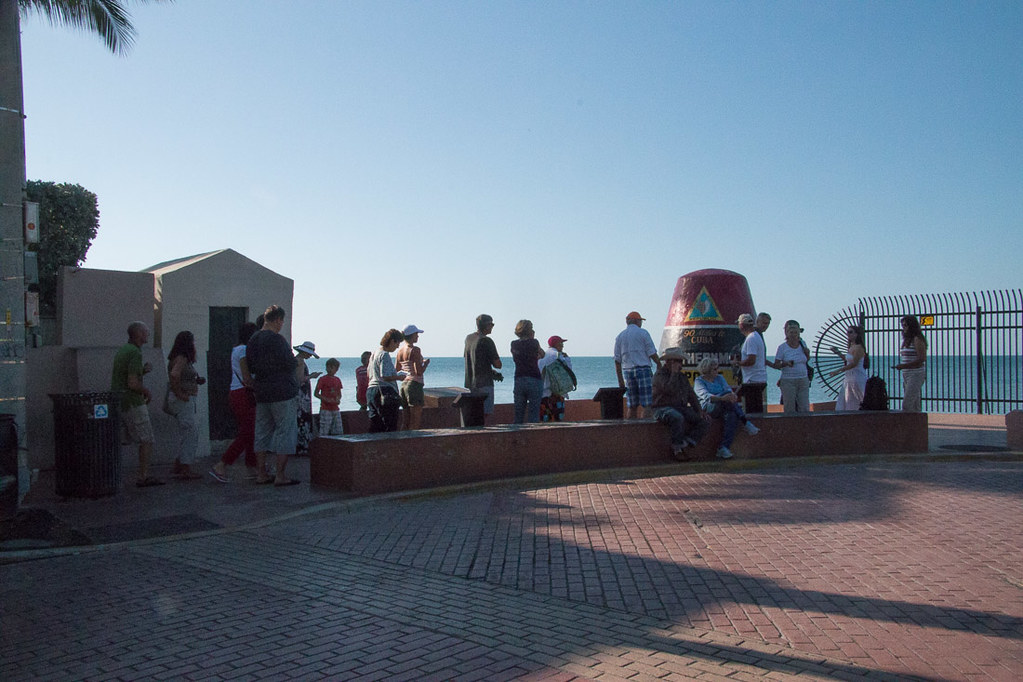 Line at the Southernmost Point