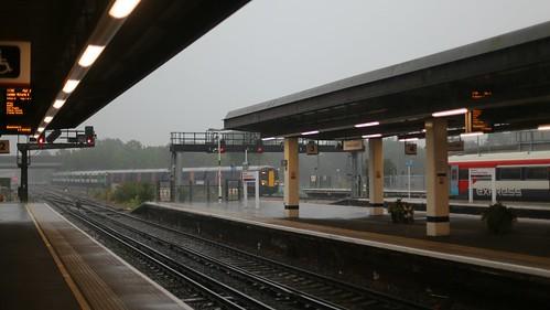 Gatwick in the monsoon season
