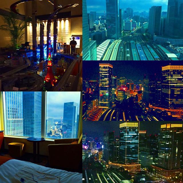Photo:電車の眺めがいいホテルならここが一番かな?鉄道好きな方は東京駅側を見える部屋に泊まればお値段以上の価値があると思います(^ω^)近くのシャングリラホテル東京や、フォーシーズンズホテル丸の内はどんな眺めか行ってみたいけど、高過ぎですね。 By Kanesue