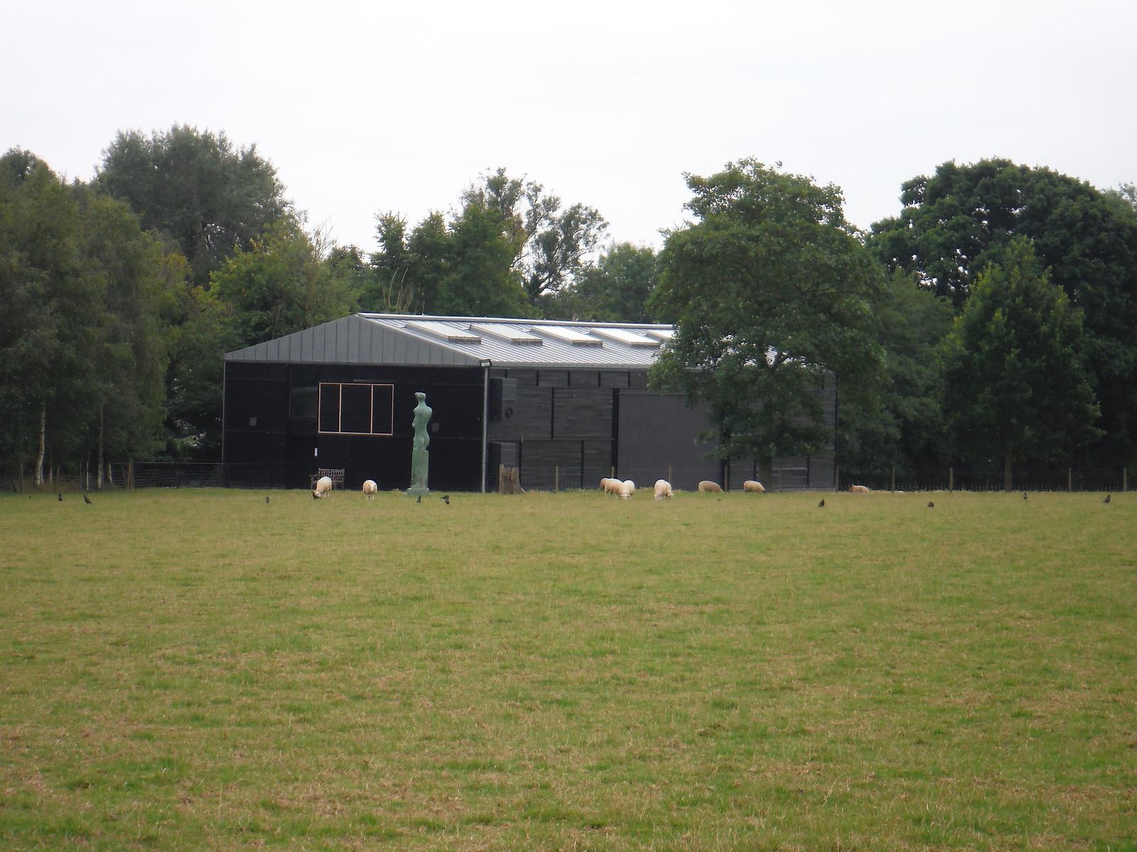 First Sight of a Henry Moore SWC Walk 164 Roydon to Sawbridgeworth via Henry Moore Foundation