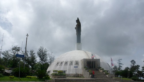 El Cristo en la cima de Isabel de Torres, Provincia Puerto Plata