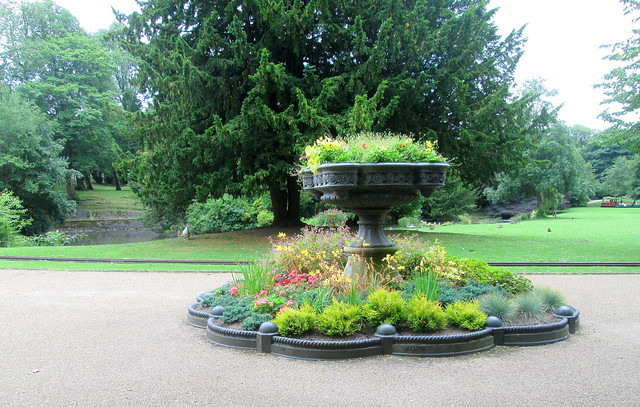 Buxton  Park planter