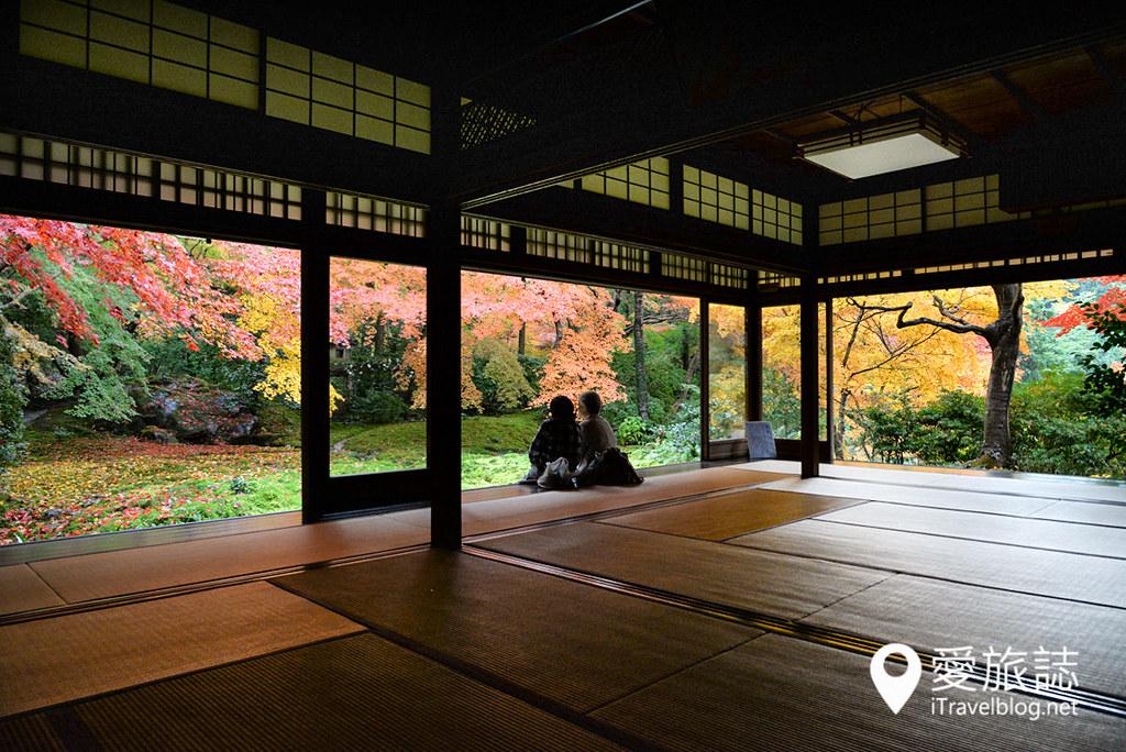 京都赏枫景点 琉璃光院 38