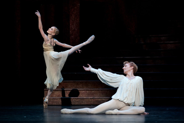 Sarah Lamb and Steven McRae in Romeo and Juliet © ROH, 2015. Photo by Alice Pennefather