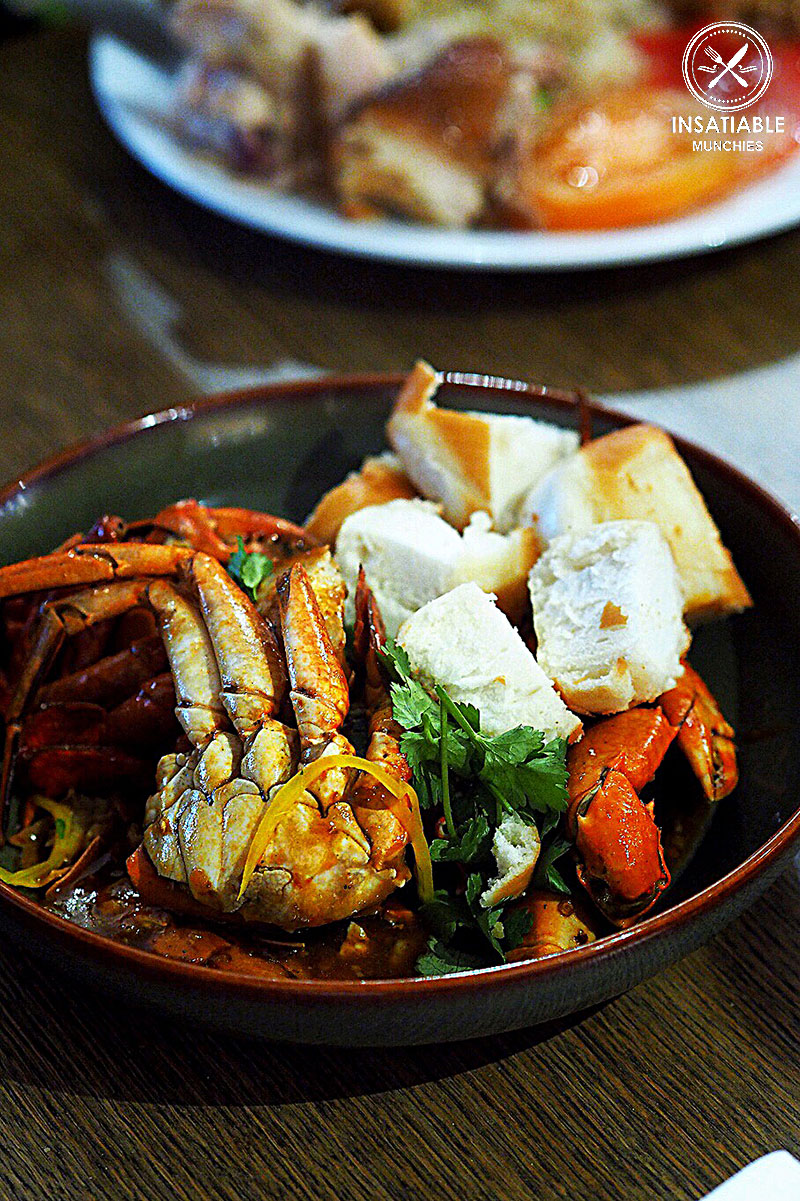 Sydney Food Blog Review of Cafe Mix, Shangri La: Singapore Chilli Crab
