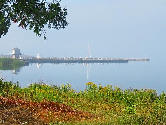 Baileys Harbor pier 20150905