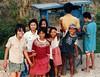 Girls, Kaki Lima cart, West Java, Indonesia