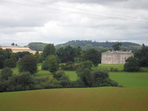 New Wardour Castle from across Wardour Park (II)