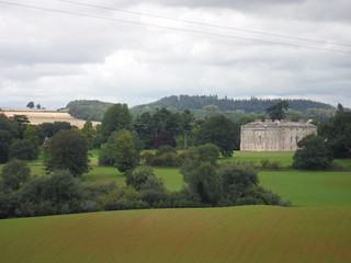 New Wardour Castle from across Wardour Park (II)