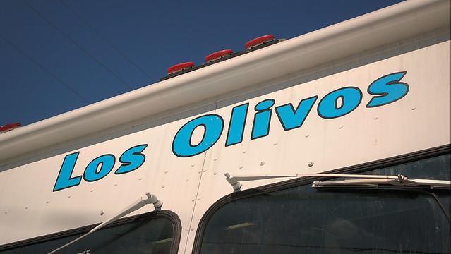 Los Olivos Pupusa Truck in Des Moines, Iowa.