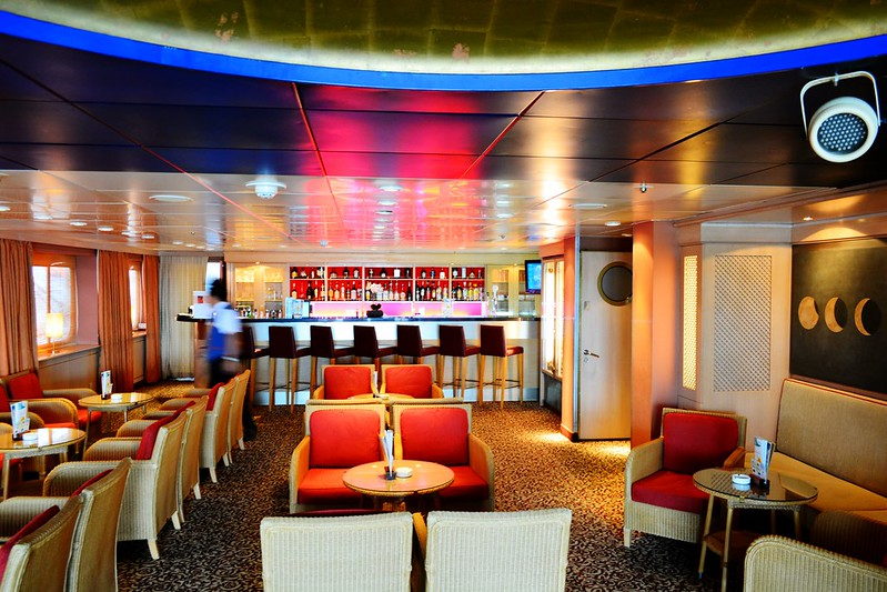 Bar Disco-Club - Visite du paquebot AMADEA - Bordeaux, 16 septembre 2015