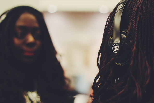 Monster x Chanel headphones Lois Opoku lisforlois