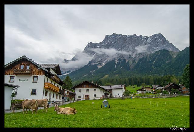Monte Zugspitze desde Ehrwald