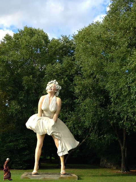 Marilyn Monroe at Grounds for Sculpture