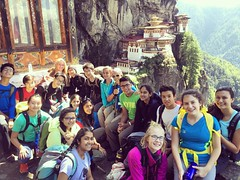 The kids are all right. #Bhutan #tigersnest #grade9