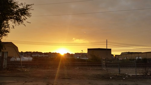 Sunrise by the Train Tracks - 20150920_064642