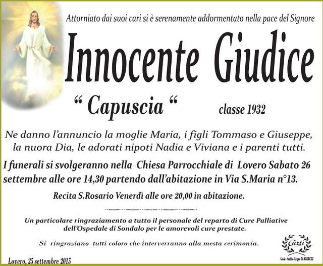 Giudice Innocente