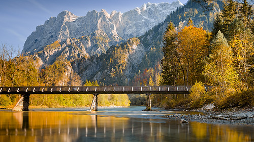autumn trees mountains reflection fall nature water rock river landscape colours enns wildwater autofocus gesäuse alpsnationalpark