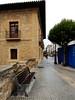 Camino de Santiago in Haro with historic building by galaxed